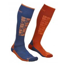 Ponožky Ortovox Ski Compression Socks - night blue