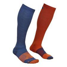 Ponožky Ortovox Tour Compression Socks - night blue