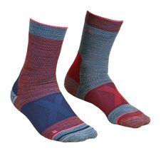 Ponožky Ortovox W´s Alpinist Mid Socks - hot coral