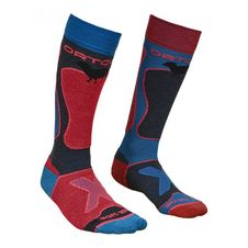 Ponožky Ortovox W's Ski Rock'n'wool Socks - night blue