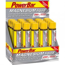 PowerBar Magnesium - 20x25ml Citrón