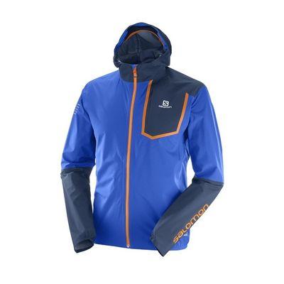 Membránová bunda Salomon Bonatti Pro WP JKT M - surf the way/dress blue
