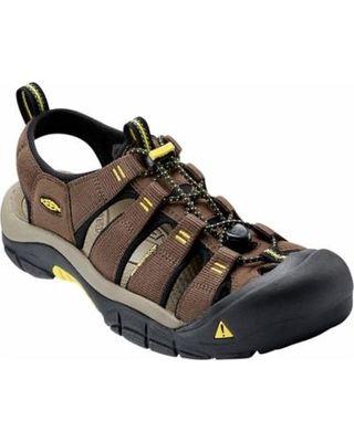 Sandále Keen NEWPORT H2 M - dark earth/ acacia