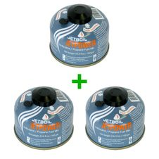 Set 3x Kartuša Jetboil JetPower Fuel 100 g