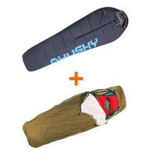 Set Husky Extreme Anapurna -28°C + Yate Bivak Bag