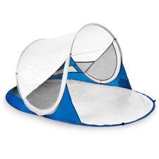 Plážový stan Spokey Stratus - bielo-modrý