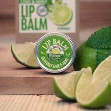 Sportique Lip Balm Heavenly Lime & Mint