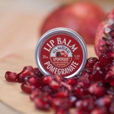 Sportique Lip Balm Pomegranate