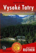 Sprievodca Rother - Vysoké Tatry