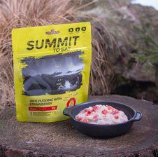 Summit To Eat - ryžový nákyp s jahodami