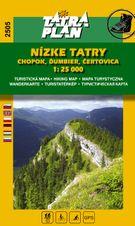 TM 2505 Nízke Tatry - Chopok 1:25 000