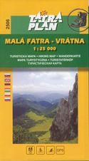 TM 2506 Malá Fatra - Vrátna 1:25 000