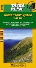 TM 5004 Nízke Tatry - východ 1:50 000