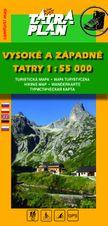 TM Vysoké a Západné Tatry 1:55 000 - SK