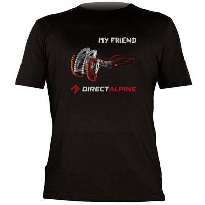 Tričko Directalpine Flash 4.0 - black