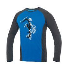 Tričko Direct Alpine Furry Long 1.0 - blue (hard ice)