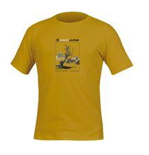 Tričko Directalpine Organic - mustard