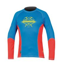 Tričko Directalpine Shark 1.0 - blue/red