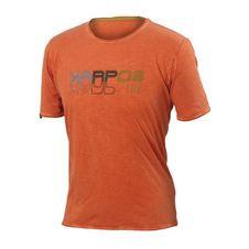 Tričko Karpos Fonzaso Wall T-Shirt - tangerine tango