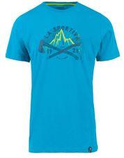 Tričko La Sportiva Hipster T-Shirt M - tropic blue