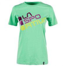 Tričko La Sportiva Square T-Shirt W - jade green. Výpredaj fa19b6772de