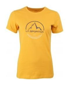 Tričko La Sportiva Womens Logo Tee - yellow