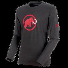 Tričko Mammut Logo Longsleeve Men - phantom/melange