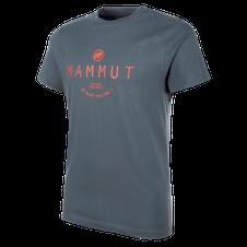 Tričko Mammut Seile T-Shirt - storm