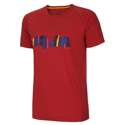 Tričko Ocun Asai TEE men - Clay red