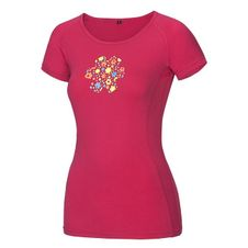 Tričko Ocún Bamboo T Meadow - rose pink