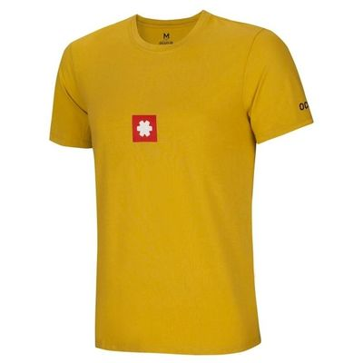Tričko Ocun LOGO TEE men - Oil yellow