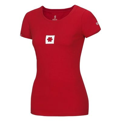 Tričko Ocun LOGO TEE women - red