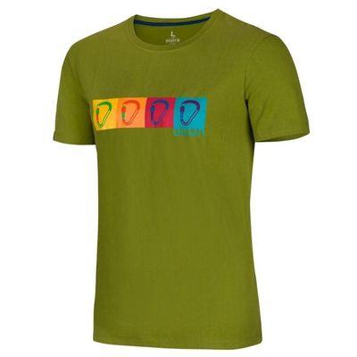 Tričko Ocun POP ART TEE men - Pond green