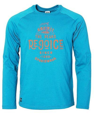 Tričko Rejoice Lamium - modrá