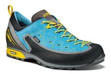 Turistická obuv Asolo Apex GV ML - donkey/cyan blue
