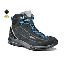 Turistická obuv Asolo Nucleon MID GV ML - graphite/silver/cyan blue