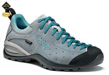 Turistická obuv Asolo Shiver GV ML - cloudly grey/blue peacock