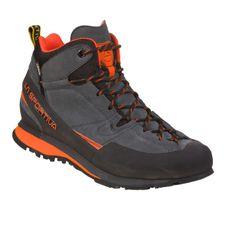 Turistická obuv La Sportiva Boulder X Mid GTX - carbon/flame
