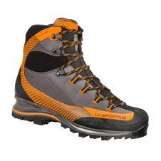 Turistická obuv La Sportiva Trango Trek Leather GTX - carbon/pumpkin