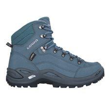 Turistická obuv Lowa Renegade GTX Mid Lady - grey blue 435881e7129