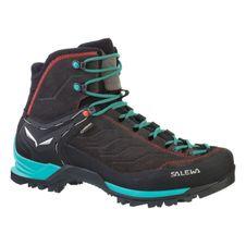 Turistická obuv Salewa WS MTN Trainer Mid GTX - black magnet/viridian green