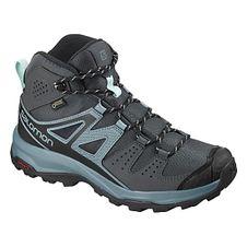 Turistická obuv Salomon X Radiant Mid GTX W - Ebony/Bluestone