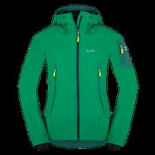 Softshellová bunda Zajo Air LT Hoody Jkt - golf green
