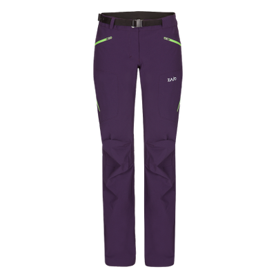 Nohavice Zajo Air LT W Pants - fialová