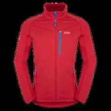 Mikina Zajo Arlberg Jkt - racing red