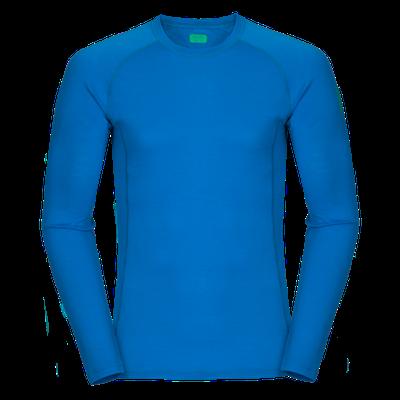 Zajo Bjorn Merino Tshirt LS - modrá