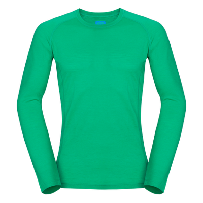 Zajo Bjorn Merino Tshirt LS - zelená