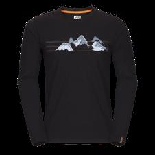 Tričko Zajo Bormio T-shirt LS - čierna 2
