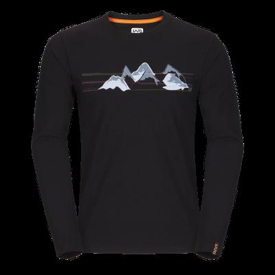 Zajo Bormio T-shirt LS - čierna 2
