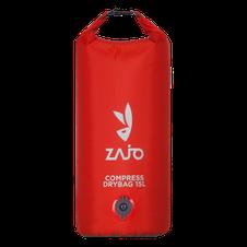 Zajo Compress Drybag 15L - červená